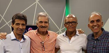 Mauro, Marcio, Jayme e Bocage