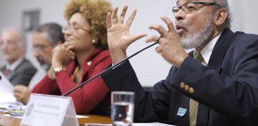 Frei David Santos (Pedro França/Agência Senado)