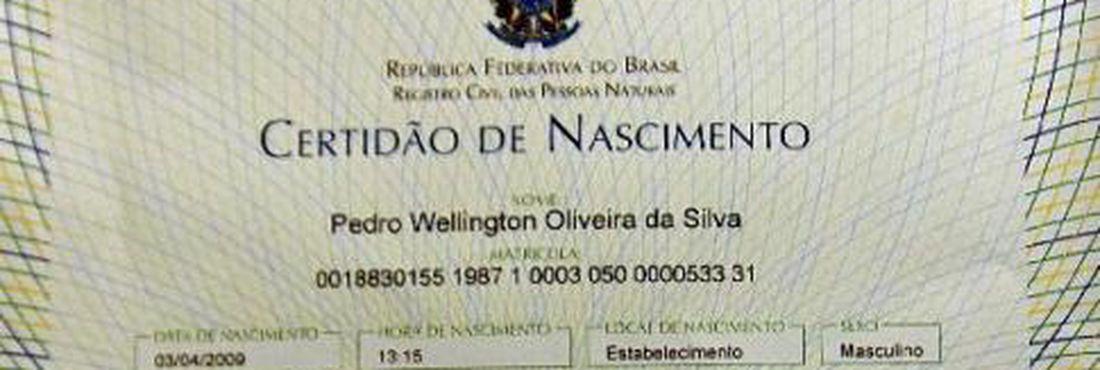 Certidões de registro civil serão impressas em novo papel