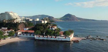 Forte de São Domingos de Gragoatá está localizado em Niterói - RJ