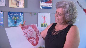 O filho de Renata Aragão, Raul, foi atropelado enquanto andava de bicicleta