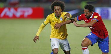 Brasil vence o Chile