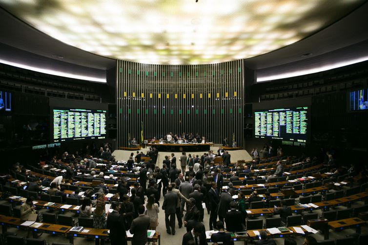 Brasília - Plenário do Congresso Nacional avalia vetos e destaques aos vetos, antes de iniciar a discussão e apreciação do PL da nova meta fiscal (Fabio Rodrigues Pozzebom/Agência Brasil)