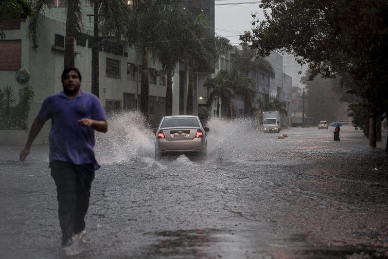 chuva em São Paulo