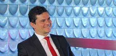 Sérgio Moro, ministro da Justiça e Segurança Pública, é o entrevistado de estreia do programa Impressões