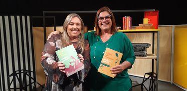 Apresentadora Katy Navarro recebe a juíza e escritora Andréa Pachá