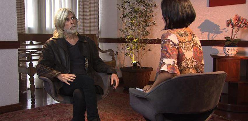 Oswaldo Montenegro conversa com Roseann Kennedy