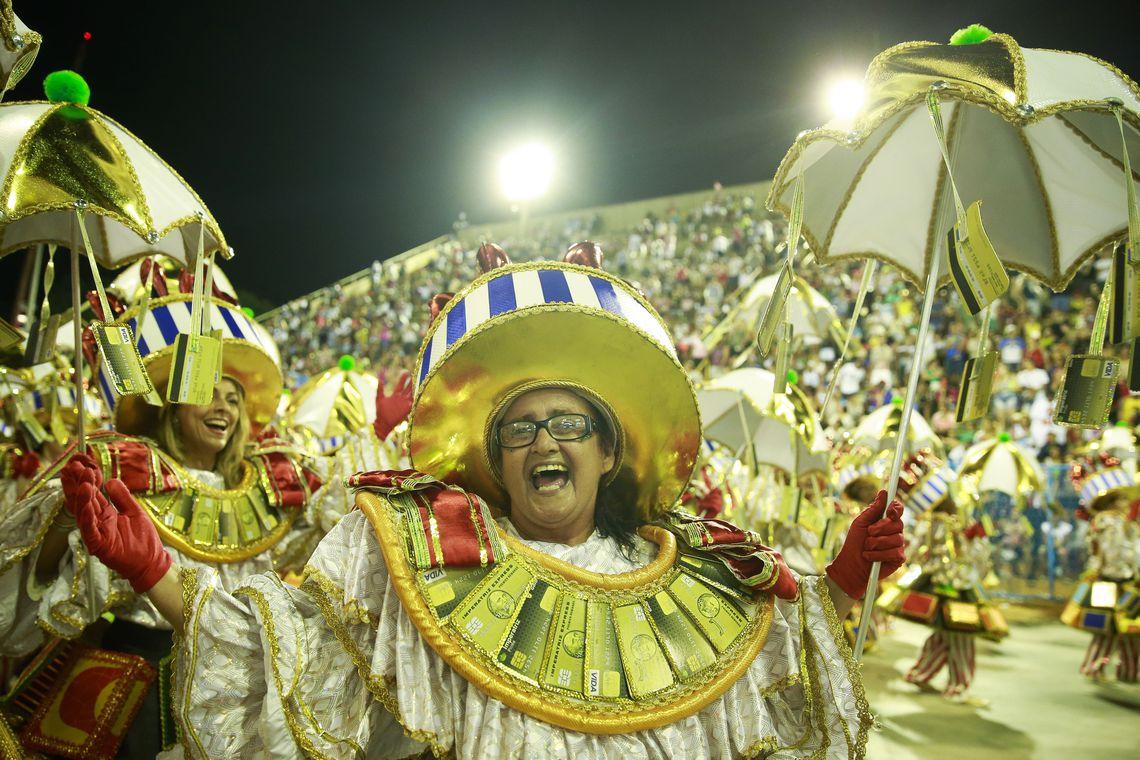 Rio de Janeiro - Desfile da Imperatriz, sexta escola na Sapucaí. (Foto: Tomaz Silva/Agência Brasil)