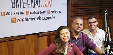 Cadu Freitas, Kaliandra Vanni Cainelli e Vitor Friary