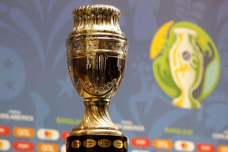 O Comitê Organizador Local e a Conmebol apresentam um balanço da primeira fase da Copa América Brasil 2019, no estádio Maracanã.
