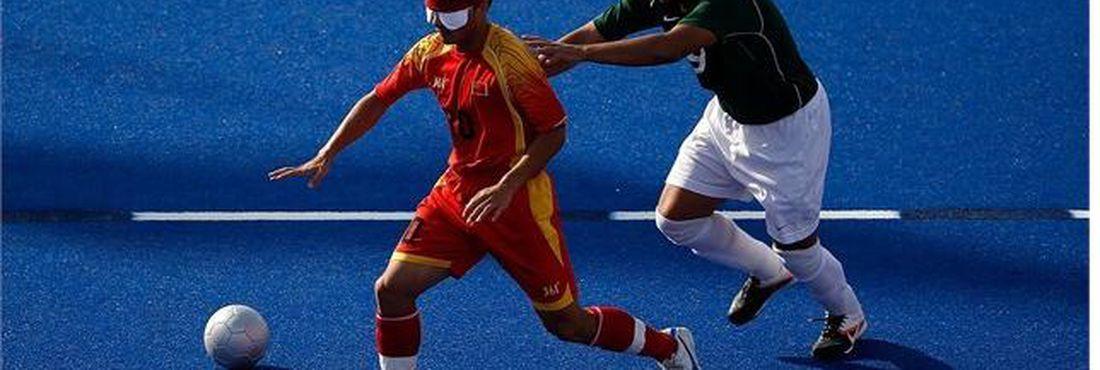 Brasil vence China por 1 a 0 no futebol de cinco