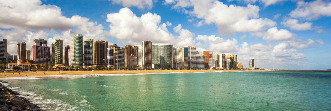 Fortaleza, capital do estado do Ceará, uma das cidades sede da Copa do Mundo 2014