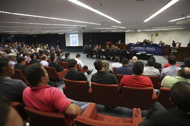 Audiência pública no Supremo Tribunal Federal (STF) discute a Medida Provisória 832 e a Resolução 5.820/2018 da ANTT, que estabelecem e regulamentam a política de preços mínimos do transporte rodoviário de cargas.