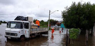 enchentes em Alegrete