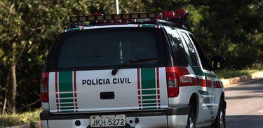 Carro da Polícia Civil