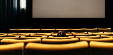 Cinema, filmes, tela, poltrona