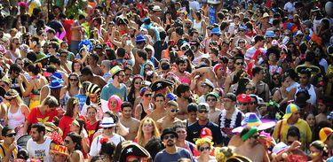 Bloco Do Barbas no Carnaval do Rio de Janeiro