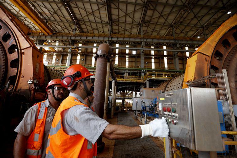 Concentração 3. Usina de Concentração da mineradora Samarco.