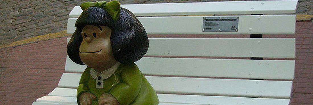 Personagem Mafalda caiu na prova do Enem