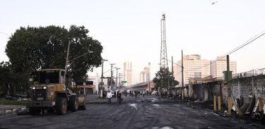 Reintegração, Favela do Cimento