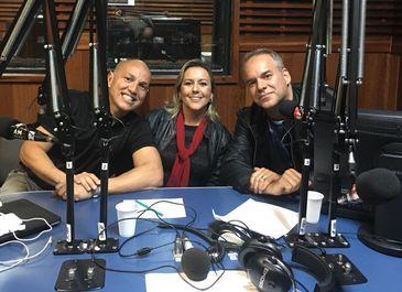 Fly Vagner, Aline Soaper e Cadu Freitas