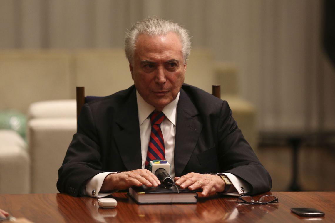 O presidente Michel Temer determinou a intervenção federal no estado de Roraima até o fim do ano.