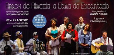 """Kikha Danttas protagoniza musical """"Aracy de Almeida, a dama do encantado"""""""