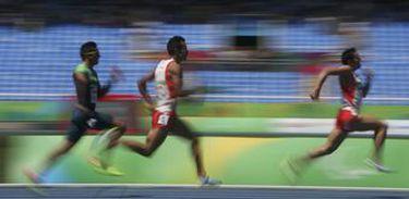 Depois de disputar três paralimpíadas, Edson Pinheiro ganhou a primeira medalha (bronze) no Rio, no tira-teima