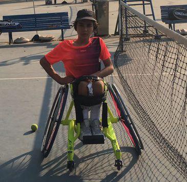 João Lucas Takaki fala do desejo de ter uma carreira no tênis