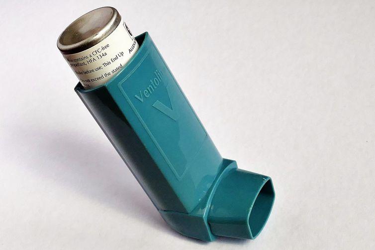 'bombinha' para asma
