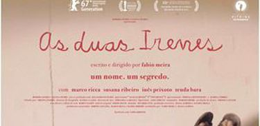cartaz do filme As Duas Irenes (2017)