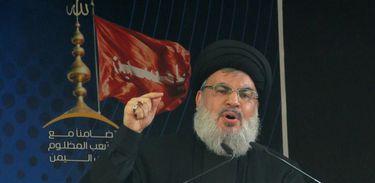 Líder do Hezbollah,  Sayyed Hassan Nasrallah