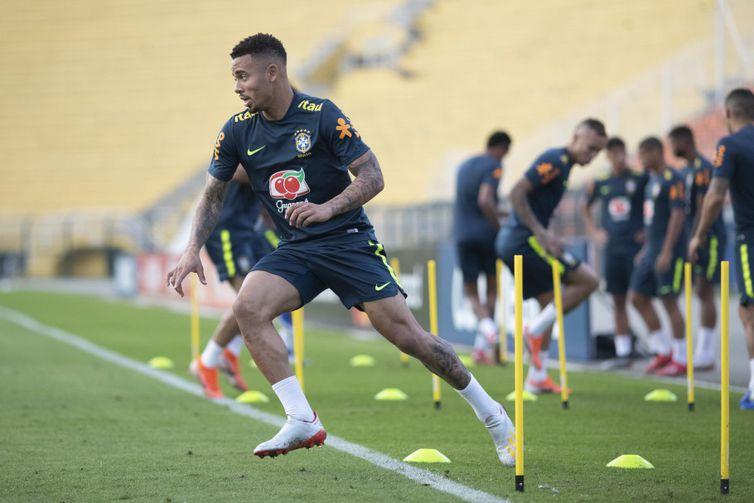 Gabriel começou a Copa América na reserva e foi ganhando uma vaga no time titular