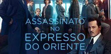 cartaz do filme Assassinato no Expresso do Oriente (2017)