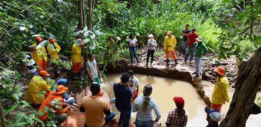 Produtores baianos recuperam primeira nascente de rio em São Desidério, no oeste da Bahia