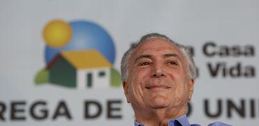 Limeira (SP) - Presidente da República, Michel Temer, entrega 900 moradias do programa Agora, é avançar, no Condomínio Residencial Rubi III (Alan Santos/PR)