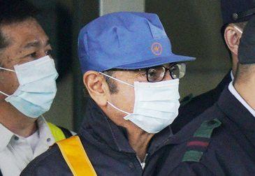 O ex-presidente da Nissan Motor Carlos Ghosn deixa a Casa de Detenção de Tóquio