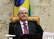 Brasília - O procurador-geral da República, Rodrigo Janot, durante sessão plenária do Supremo Tribunal Federal (STF) para o julgamento da validade das delações da JBS (Marcelo Camargo/Agência Brasil)
