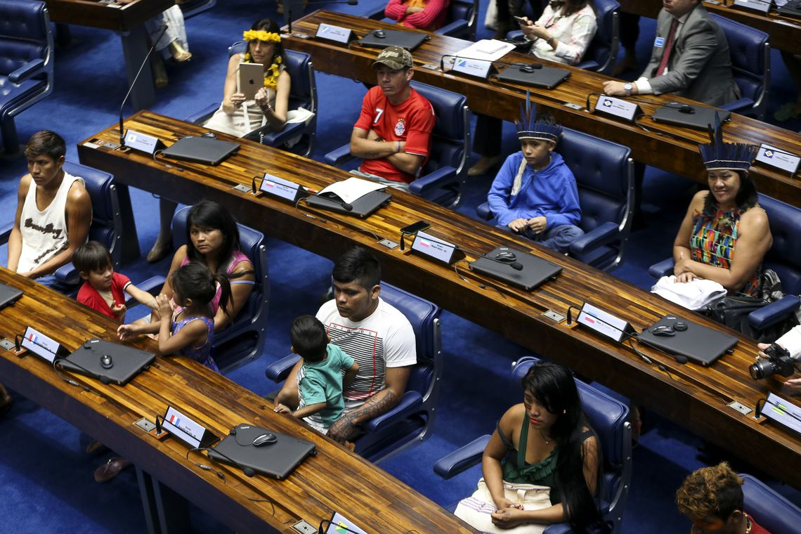 Senado faz sessão especial para homenagear os povos indígenas