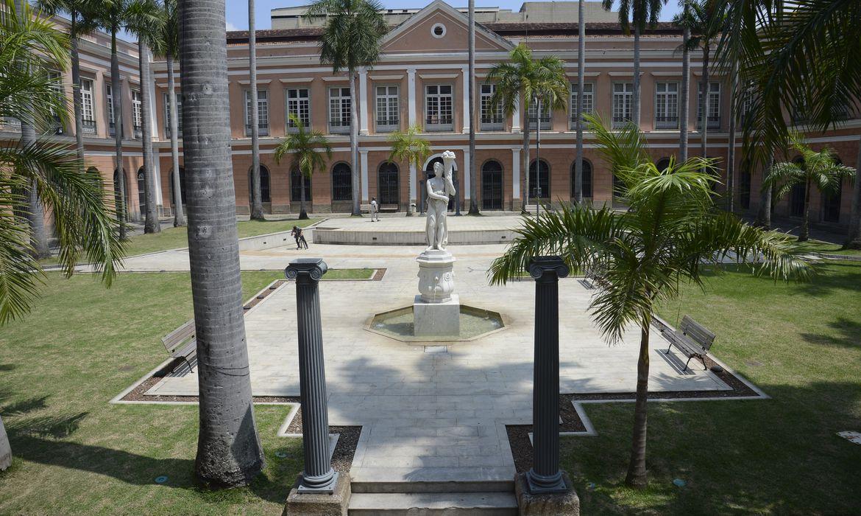 Sede do Arquivo Nacional, no centro do Rio de Janeiro.