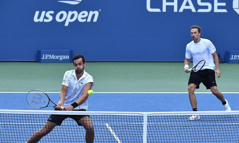 Mate Pavic e Bruno Soares se classificam para final do Grand Slam de Tênis.