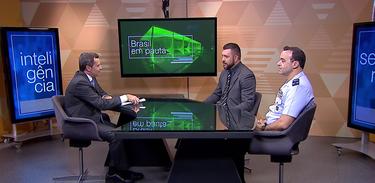Brasil em Pauta recebe o Brigadeiro do Ar Ary Soares Mesquita e Eduardo Bettini, do Ministério da Justiça