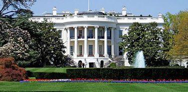A Casa Branca é a residência oficial do Presidente dos Estados Unidos