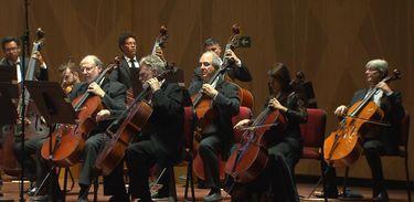 Orquestra Sinfônica Brasileira em concerto no Festival Beethoven de 2019