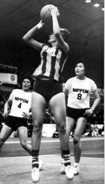 Faleceu em Niterói-RJ, aos 82 anos, Marlene José Bento, ex-capitã da Seleção Brasileira de Basquete Feminino