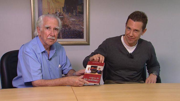 Paulo Leme e Paulo Leme Filho são autores do livro A doença do alcoolismo