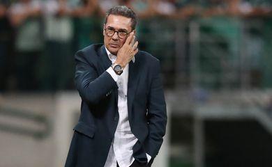 Vanderlei Luxemburgo - técnico / treinador do Palmeiras - Copa Libertadores - Group B - Palmeiras v Guarani