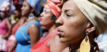 3ª Marcha das Mulheres Negras no Centro do Mundo, no Rio