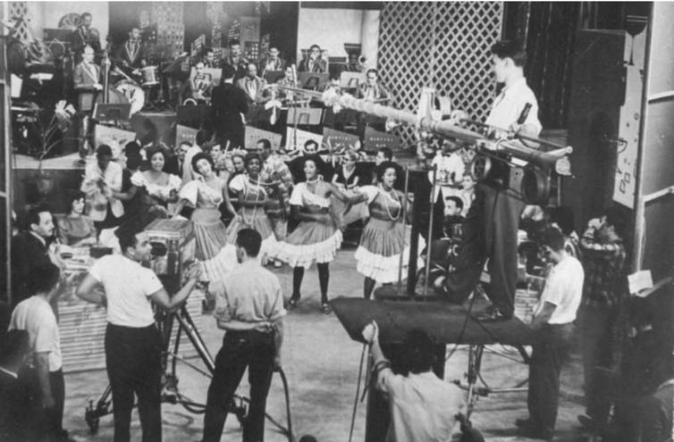 Programa Musical - TV Record-1955.