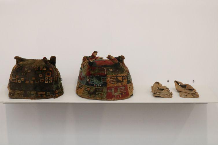 Exposição Comodato MASP Landmann - Têxteis pré-colombianos, mostra organizada pela arqueóloga e historiadora Marcia Arcuri, no Masp, em São Paulo.